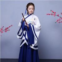 Folk Dance Nuevo chino antigua ropa elegante princesa de cuento de ropa china trajes de disfraces tradicionales de mujeres hanfu de las mujeres