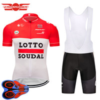 Crossrider 2018 summer team lotto cycling jersey Belgium bik...