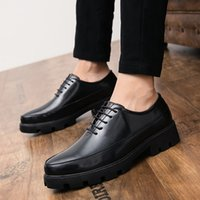 Best Selling Oxford Shoes Men Pointed Black Male Business Dr...