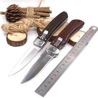 캠핑 사냥 칼 나일론 재킷 EDC 야외 멀티 도구와 함께 빠른 열기 접는 칼 전투 전술 생존 칼