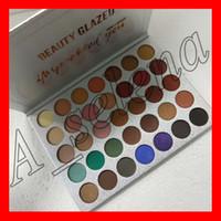 Yeni Makyaj güzellik camlı 35 renk sizi etkiledi Göz Farı Paleti Mat Göz Farı Yüksek Kalite ücretsiz kargo