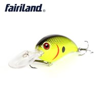 Pesca CrankBait Lure 7cm / 2.8in 15g / 0.53oz Thunder Thunder Floating Fishing Lure Sonalle Sound Wobbler Artificiale Hard 10 Colors
