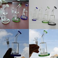 TORO Glas Bongs Dab Rigs Wasser Bongs Rohr Mini Oil Rig 7,48 Zoll Hoch Bubbler Inline Perc Recycler Bong Downstem Rigs mit 14mm Male Bowl