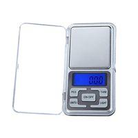 200g / 500g Mini Balance Numérique de Poche pour Bijoux en Or Cuisine Poids Électronique Échelle de Gram 0.1 / 0.01g Écran LCD avec Rétro-Éclairage