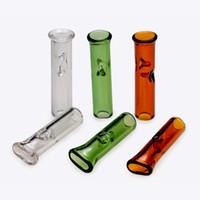 Haken Zigarettenfilterrohrglasspitze für trockene Kraut Tabak Rohwalzpapiere mit Halter dicker Pyrex Smoki