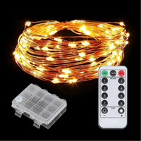 SXI Battery Operated fairy string lights Waterproof 8 Modes ...
