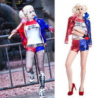 syntetic wig adult joker and harley suicide squad wig quinn ...
