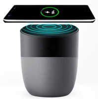 Wireless Charger With Bluetooth Speaker Qi- enabled Fast Char...