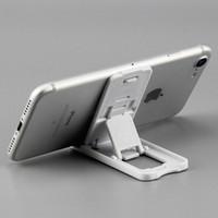 Vendita di modo che piega il supporto del basamento del telefono come titolare Smartphone piegata supporto regolabile 1500pcs supporto per telefono cellulare mobile / lot