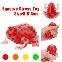Novedad Bead Stress Ball Anti Stress Reliever Frish Ball Squishy Phone Straps Squeeze Stretchy Funny Tricky Charms Regalo para niños Juguetes