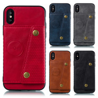 Vehicle Magnetic Back Cover Phone Case for iPhone XR XS MAX ...