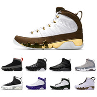 2018 Mop Melo Bred 9 9s LA Oreo basketball shoes IX Men spac...