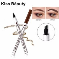 Kiss beauty microblading eyebrow tattoo pencil 3 colors wenk...