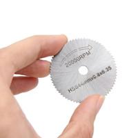 6 stücke Mini HSS Drehwerkzeug Kreissägeblätter Trennscheibe Electrodrill Multitool Power Saw Werkzeug Zubehör Holz Metall Cutter