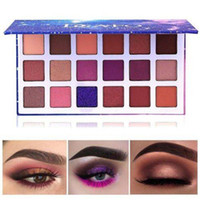 DGAFO Galaxy Star Sky 18 Color Glitter Eyeshadow Palette Shi...