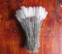 200x50x10MM in acciaio inox Nylon paglia Cleaner Spazzola di pulizia per bere PipeTube biberon tazza di strumenti puliti
