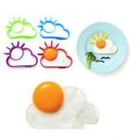 10*8*1. 2cm Silicone Sun Cloud Fried Egg Mold Kitchen Gadgets...