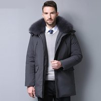 Men' s Down Jacket 90% Duck Down Winter Jacket Thicken W...