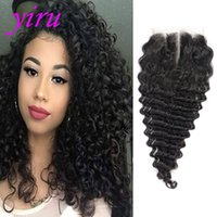 Indian 10A Lace Closure Middle Free Three Part 6X6 Lace Clos...