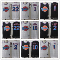 Hombres Tune Squad Space Jam Película Jersey 1 Bugs Bunny 2 Daffy Duck 13 Tweety Bird 10 Lola Bunny 22 Bill Murray Camisetas de baloncesto