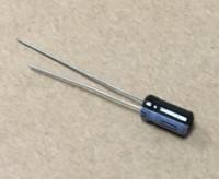 100PCS 1uF 50V 105 C condensador electrolítico radial 5X11mm