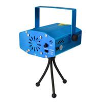 Holiday Sale Blue Mini Laser Stage Lighting 150mW Mini Green&Red LED Laser DJ Party Stage Light Black Disco Dance Floor Lights