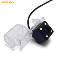 FEELDO Rückfahrkamera mit LED für Ford Edge Fusion Mondeo Kuga Flucht der Parken-Kamera # 3916