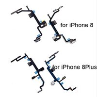 Neu für iPhone 5 5S 5C SE 6 6S Plus 7 7Plus 8 8Plus X Ausschaltknopf Swtich Lautstärke-Seitentaste Sound Flexkabel-Ersatzband