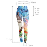 2018 new honeycomb pattern printing ladies fitness leg pants...