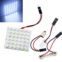 T10 36SMD 5050 LED Panel Car Roof Reading light with Festoon...
