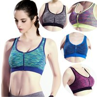 5 Colors Soft Breathable Sports Bra Women Sport Bra Running ...