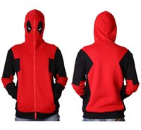 Men Cosplay Hoodies Deadpool Design 3D Printed Pullovers Coo...