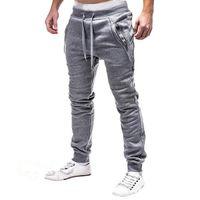 Nagelneues FashionSlim Normallack Männer beiläufige aktive Hosen-Mann-Hosen-Entwerfer-Mens-Rüttler plus Größen-Qualität für Frauen 3 Farben