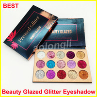 New Makeup Beauty Glazed Glitter Eyeshadow Palette 15 color ...