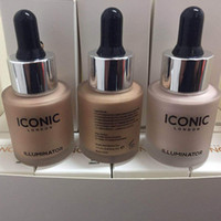 Iconic London Illuminator Liquid Highlighter In Shine Original Shine Glow Tres colores Face Makeup Highlighter 3 Color 13.5ML 3001115
