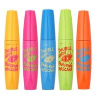 Zanabili Original Cosmétiques Coréens Double Besoins Pang Pang Mascara 5type 3d Fibre Mascara Cils Cils Étanche Maquillage Des Yeux 1 pcs