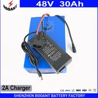 Hohe Kapazität 48V 30Ah Lithium-Batterie für E-Bike-Motor 1440W oder 1800W eBike-Batterie 48V 18650 Akku-Pack
