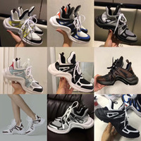 2018 NEW Luxury women' s Archlight sneaker Men Genuine L...
