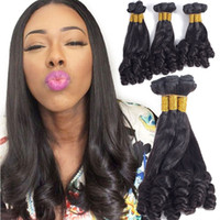 Brazilian Human Hair 3 Bundles 8a Grade Funmi Curly Hair Bun...