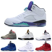 Top 5 Basketball Shoes Sneakers 5S V Men Red Suede Oregon Du...