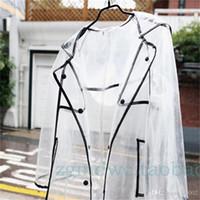 ماء واضح المعطف للرجل النساء المد في السفر المطر جاكيتات جودة عالية صغيرة المطر يسهل حملها تصميم 25 5lr2 cc