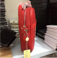 Red Cross Body mini Shoulder Bag Danube RARE Pop- Up Exclusiv...