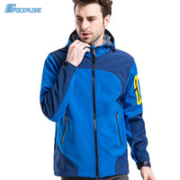 Dropshipping New outdoor men camping jackets windstopper wat...