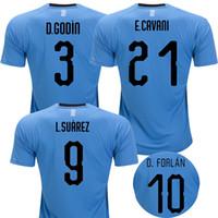 c1d921ddf Uruguay 2018 world cup soccer jerseys SUAREZ Uruguay national football  shirt CAVANI GODIN FORLAN Camiseta STUANI GONZALEZ maillot
