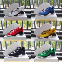 Human Race Pharrell Williams X Scarpe Uomo Donne Cushion 2018 Scarpe Sneakers Stivali New Color all'aria aperta Size 36-45 corsa
