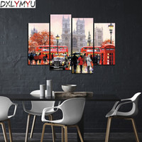 5D DIY Diamond Embroidery Street Scenery Diamond Painting Cr...