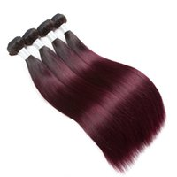 Mink Brazilian Virgin Hair Straight Hair Weaves 3 4 Bundles ...