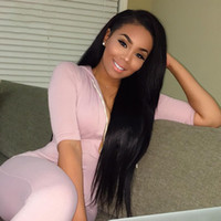 4 Bundles With Lace Frontal 5pcs lot Mink Brazilian Straight...