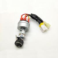 Motor Starter Anahtar Kontak Anahtarı Parçaları Fit Vov Ekskavatör EC210B 240B 290B 360B