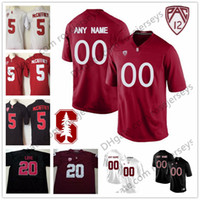 beaae8cd6 Custom Stanford Cardinal College Football Jerseys Men Youth Kid black red  white Personalized Stitched Any Name Number love Elway NCAA S-3XL